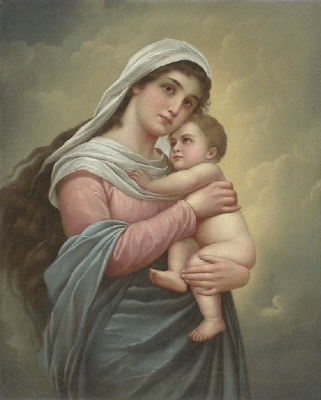 Madonna z Dzieciątkiem po konserwacji