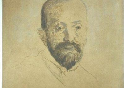 Rysunek Malczewskiego po konserwacji
