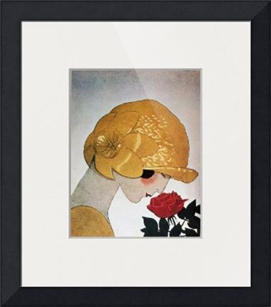 Portret międzywojenny - Ramy ciemne płaskie